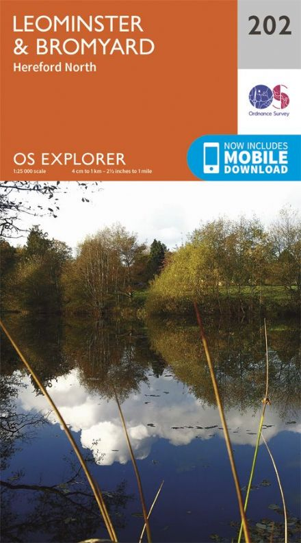 OS Explorer 202 - Leominster & Bromyard & Hereford North